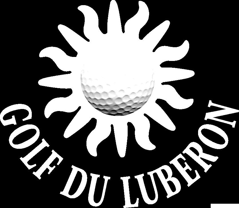 Logo blanc Golf du Luberon
